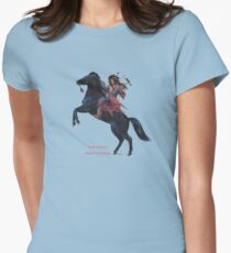 Tokvi-Kava, Black Mustang by tasmanianartist for Karl May Friends Fitted T-Shirt