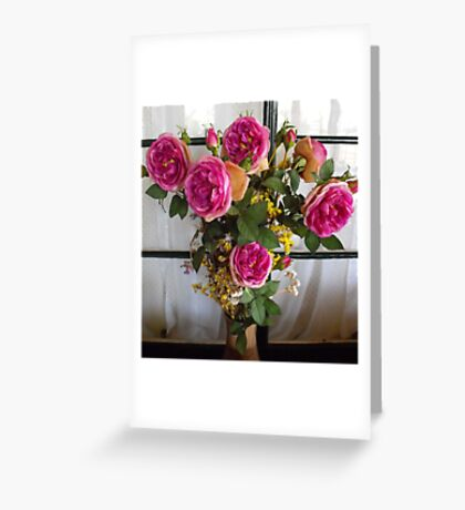 Boquet of Roses Greeting Card