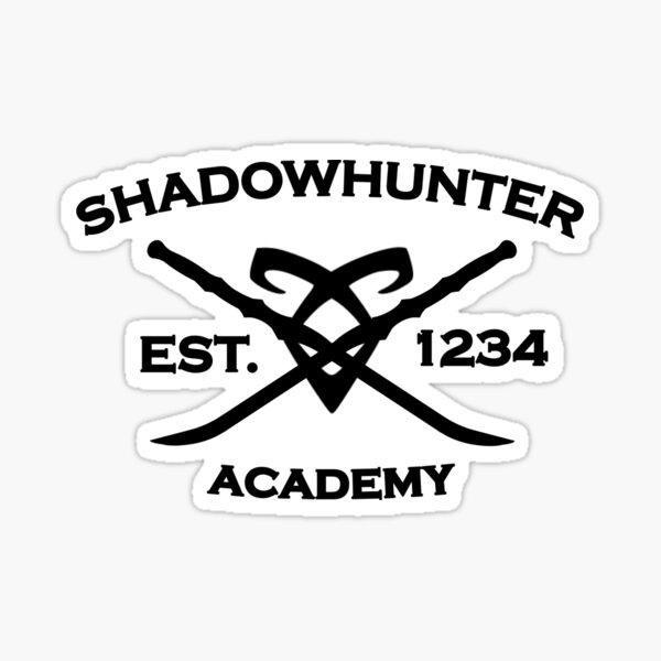 Shadowhunter Academy Sticker