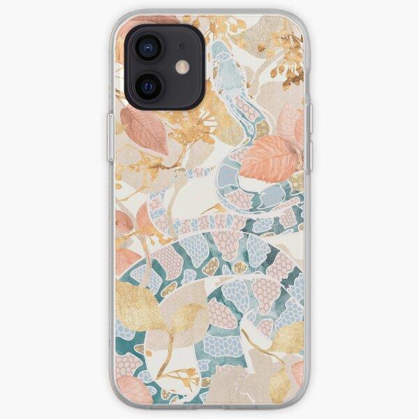 Coral Spring Garden iPhone Soft Case