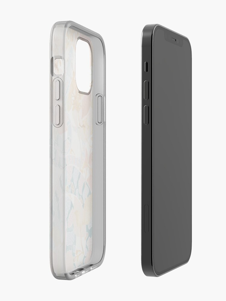 Alternate view of Coral Spring Garden iPhone Case & Cover