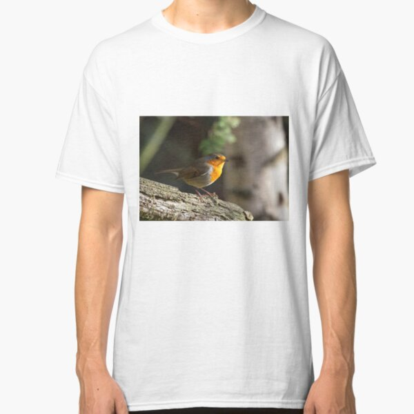 Robin Red Breast (Erithacus rubecula) Classic T-Shirt