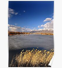 American Fork Boat Harbor Late Winter Poster