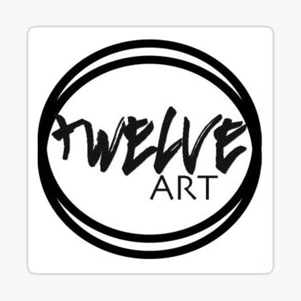 LOGO DESIGN TWELVE ART Sticker