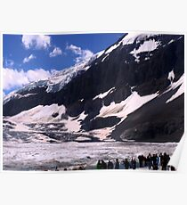 Columbian Icefields Poster