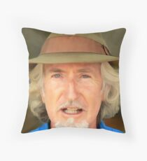 Silversmith Hat Throw Pillow