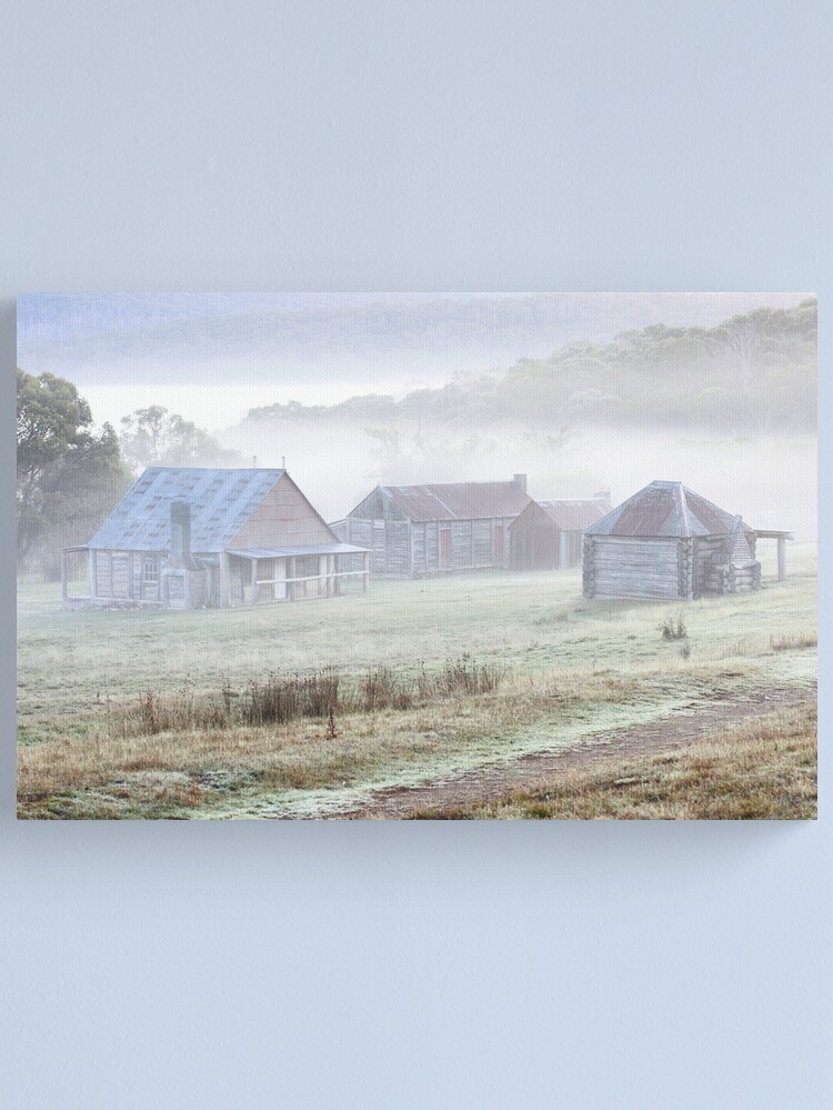 Alternate view of Coolamine Homestead, Kosciusko National Park, Australia  Canvas Print