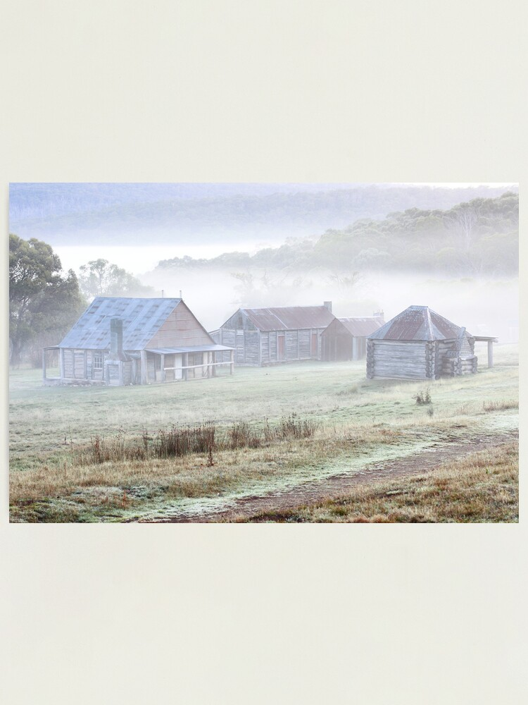 Alternate view of Coolamine Homestead, Kosciusko National Park, Australia  Photographic Print