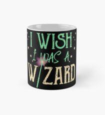 I wish I was a wizard / witch | Bookrebels magic. Mug