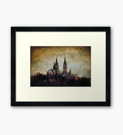 Basilica of Holy Hill Framed Print