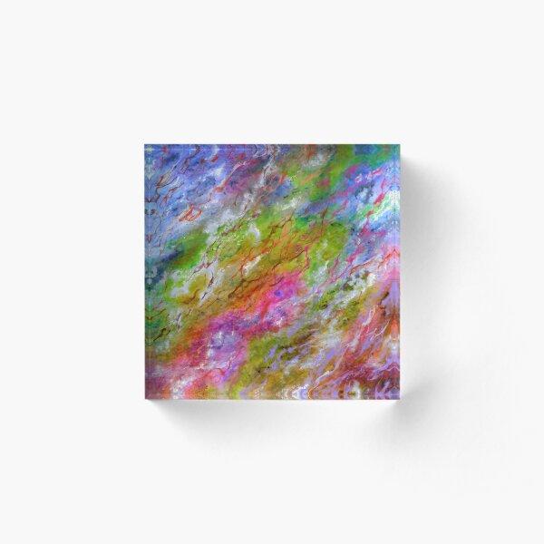 Splash Of Colors Acrylic Block