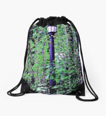 lamp post Drawstring Bag