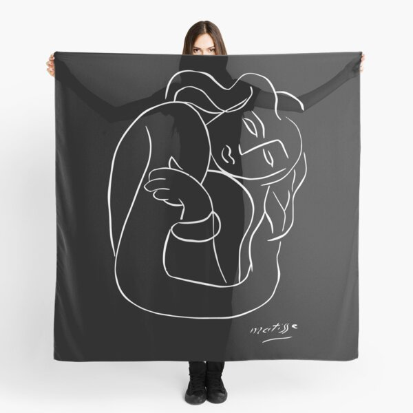 Henri Matisse - PASIPHAE PLATE 2 - Woman With Arms Crossed Artwork Reproduction, Prints, Tshirts, Posters, Bags, Men, Women, Kids Scarf