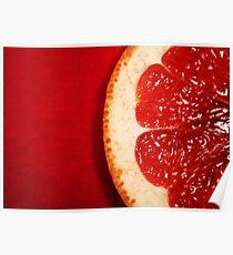 Red Grapefruit Poster