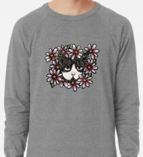 Tuxedo Cat Lightweight Sweatshirt