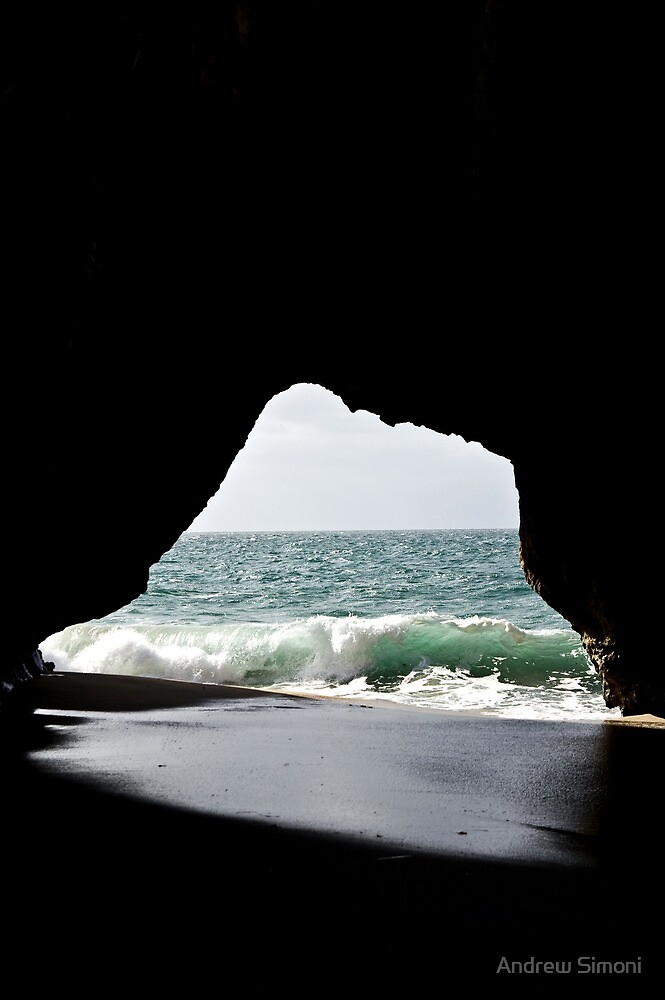Looking Through a Curl by Andrew Simoni