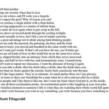 F. Scott Fitzgerald Quotes by qqqueiru