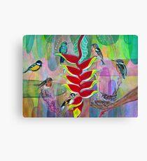 Birds of Play Canvas Print