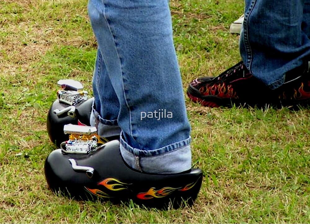 Rockabilly Hot Rod Clogs! by patjila