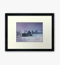 Winter Takes Over Framed Print