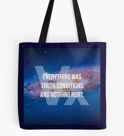 Truth Conditions Tote Bag
