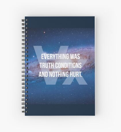 Truth Conditions Spiral Notebook
