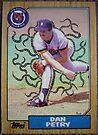 448 - Dan Petry by Foob's Baseball Cards
