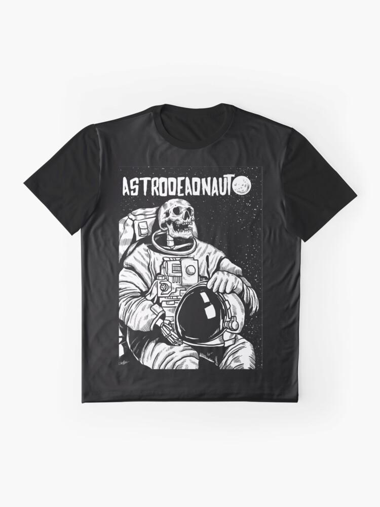 Alternative Ansicht von Der Astronaut - toter Astronaut Grafik T-Shirt