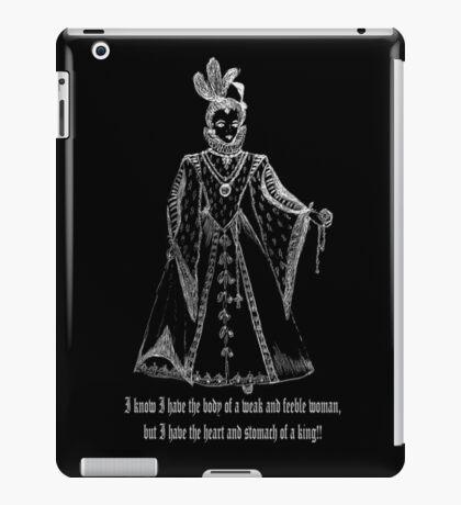 Elisabeth I Tudor t-shirt design Ladies Only! iPad Case/Skin