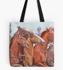 Off and Running Tote Bag
