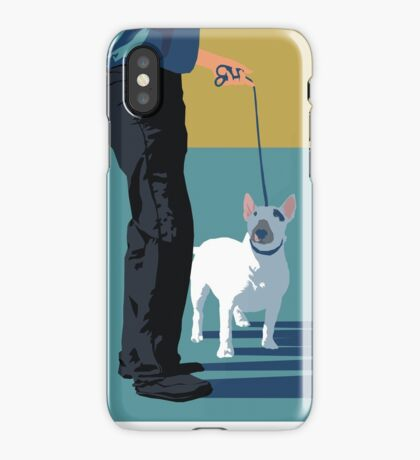 Bull terriers iPhone Case