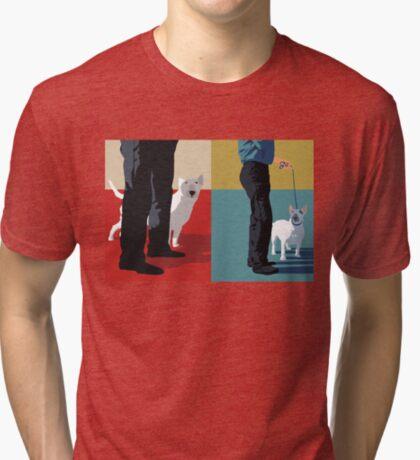 Bull terriers Tri-blend T-Shirt