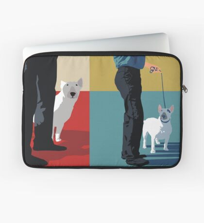 Bull terriers Laptop Sleeve