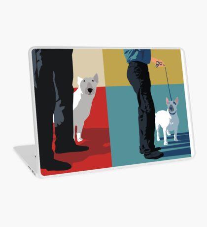 Bull terriers Laptop Skin