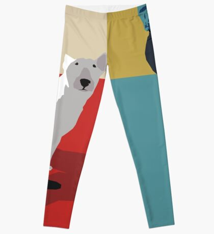 Bull terriers Leggings