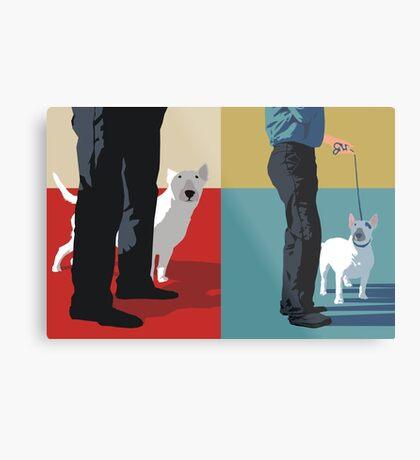Bull terriers Metal Print