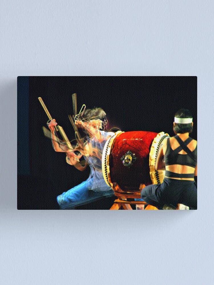 Alternate view of Kodo 2 Canvas Print