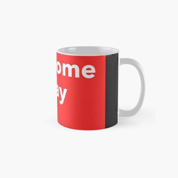 Red Block Classic Mug