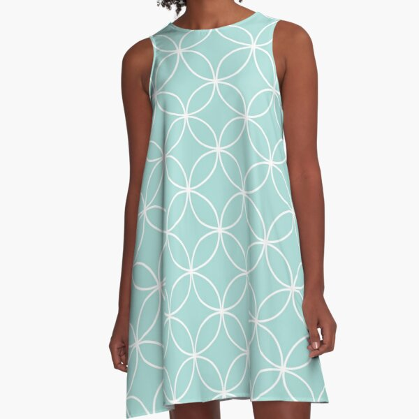 Circles Crossing - Tiffany A-Line Dress
