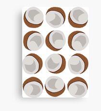 Coconut - White Canvas Print