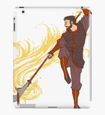 Hawke as a Firebender iPad Case/Skin