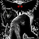 National Cryptid Society Poster: Bigfoot, Dogman and Mothman Monsters of America by NationalCryptid
