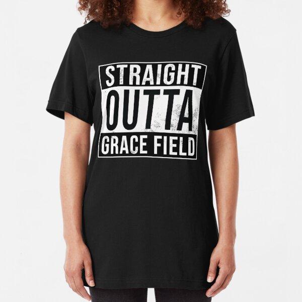 Straight Outta Grace Field Slim Fit T-Shirt