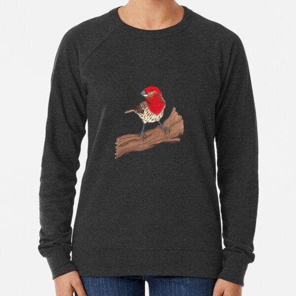 Male House Finch Lightweight Sweatshirt