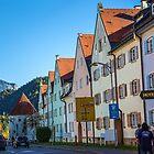 Germany. Bavaria. Füssen. Street. by vadim19