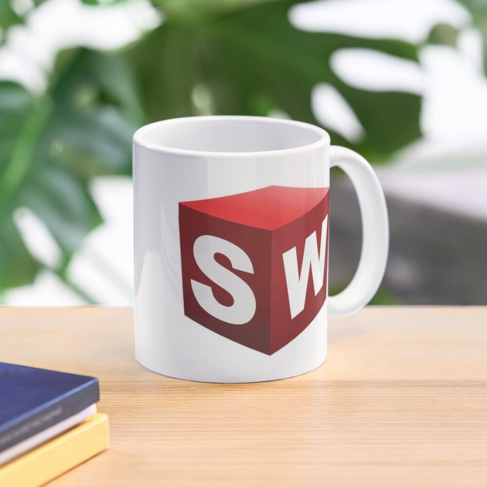 3D Cad/Cam/Cae Solid Works Designer Mug