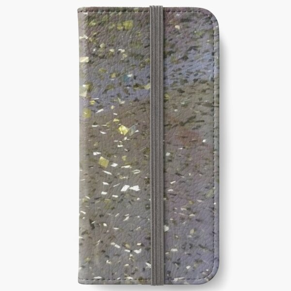 #rain #abstract #reflection #wet #nature pattern drop water dew design iPhone Wallet