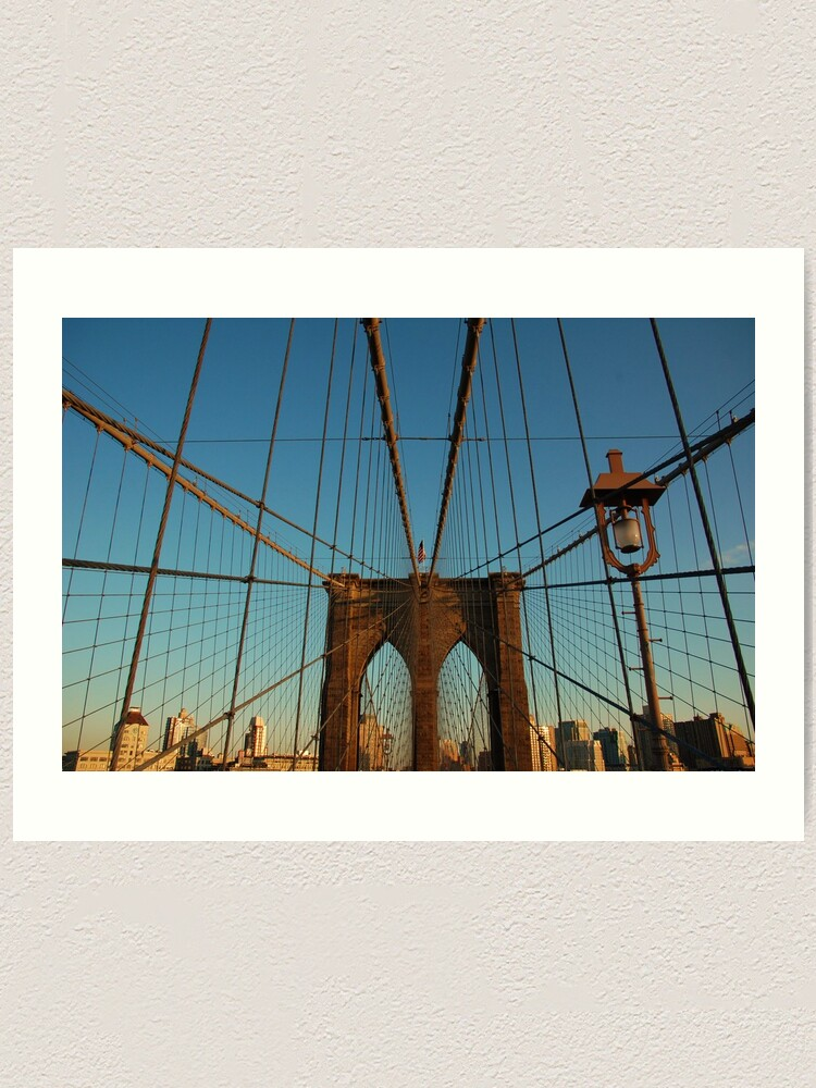 Alternate view of Brooklyn Bridge Art Print
