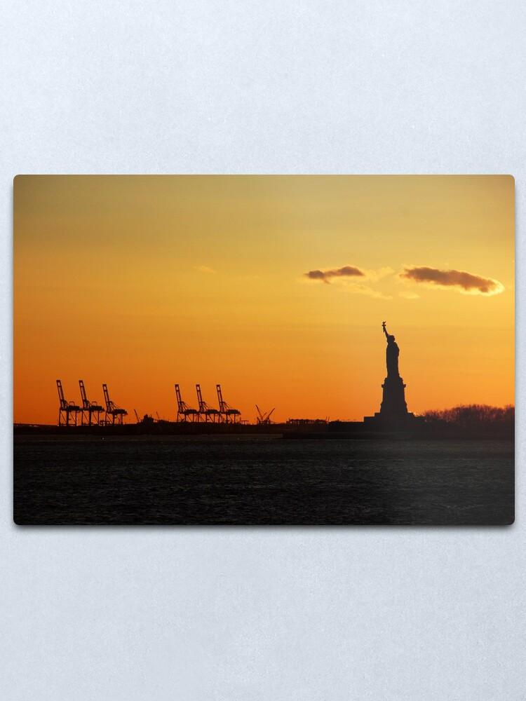 Alternate view of Liberty Metal Print