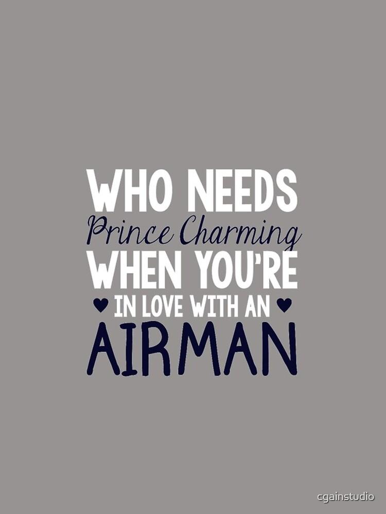 WHO NEEDS PRINCE CHARMING (AIRMAN) by cgainstudio